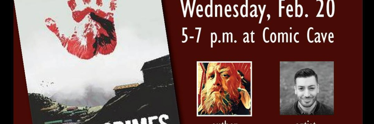 High Crimes release party & signing!