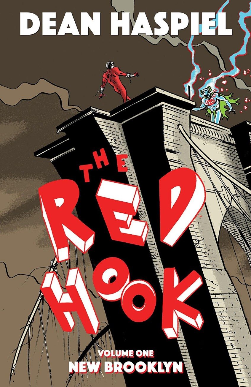 The Red Hook Cover Art by Dean Haspiel