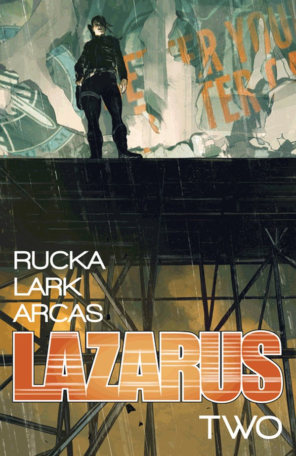 Lazarus: Vol. 2, Lift Cover Art by Michael Lark