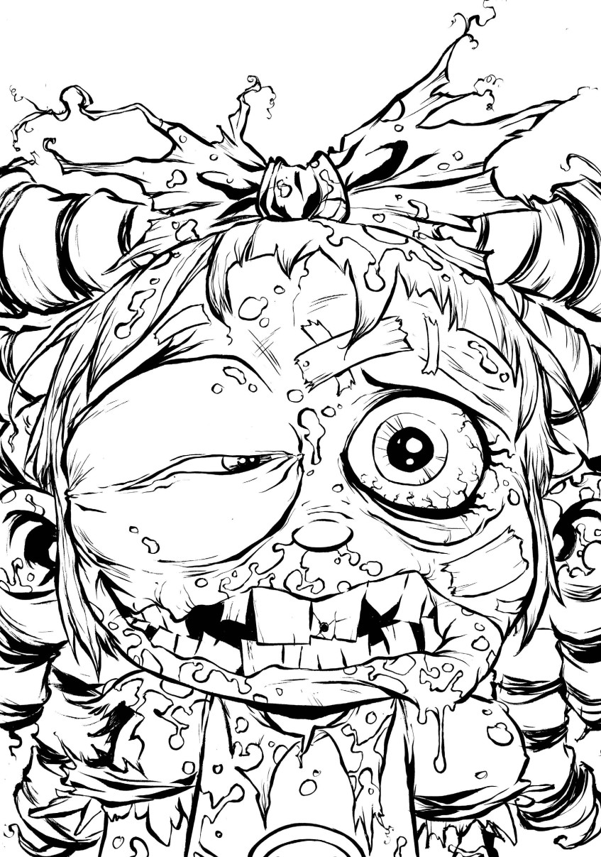 I Hate Fairyland Coloring Page 08