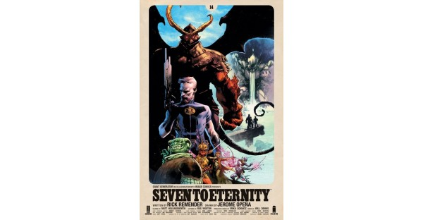 REMENDER & OPEÑA'S BESTSELLING SEVEN TO ETERNITY BEGINS FOURTH & FINAL STORY ARC THIS NOVEMBER