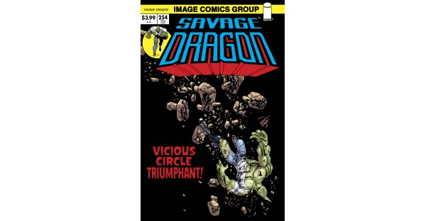 SAVAGE DRAGON #254-256 COVERS WILL FEATURE RETRO STYLE VARIANTS