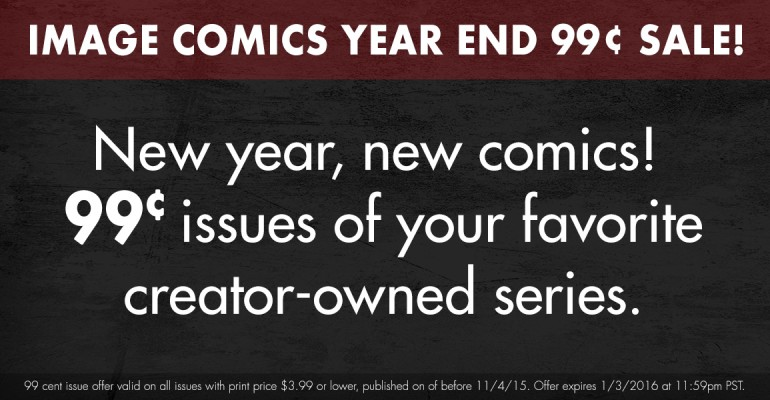 Image Comics Year-End 99 Cent Sale!