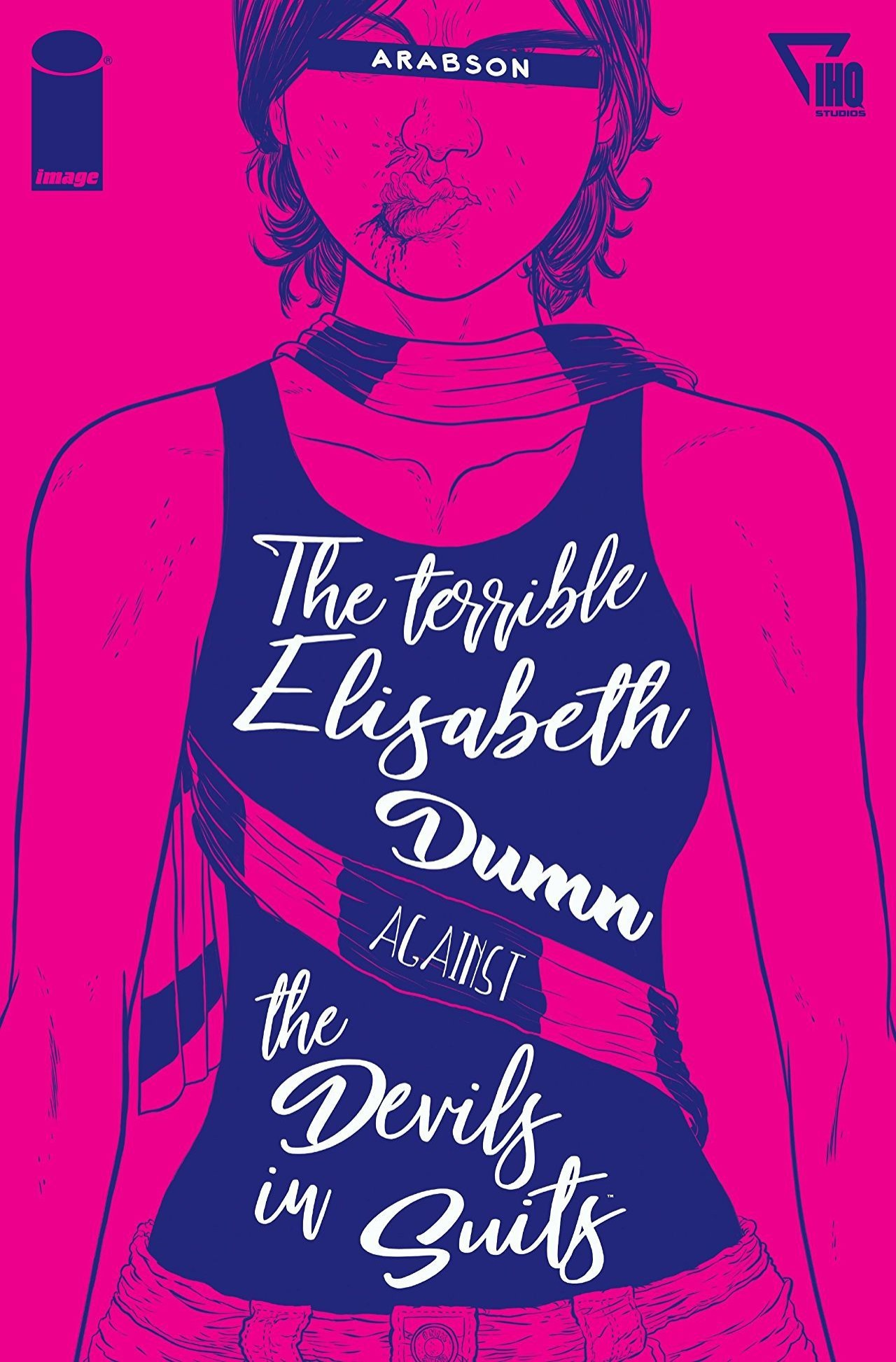 The Terrible Elisabeth Dumn Against the Devils in Suits Cover