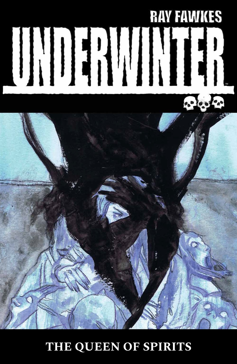 Underwinter: The Queen of Spirits Cover