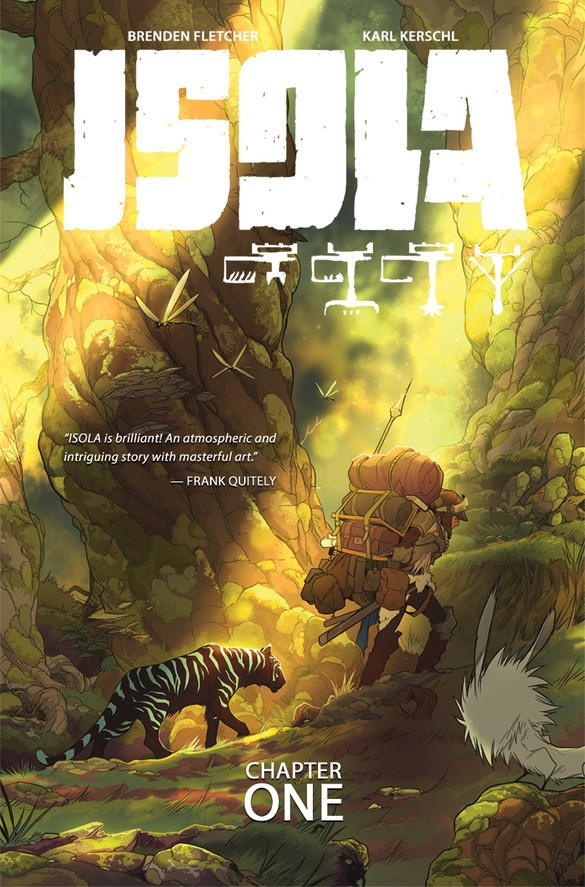 Isola Vol. 1 Cover