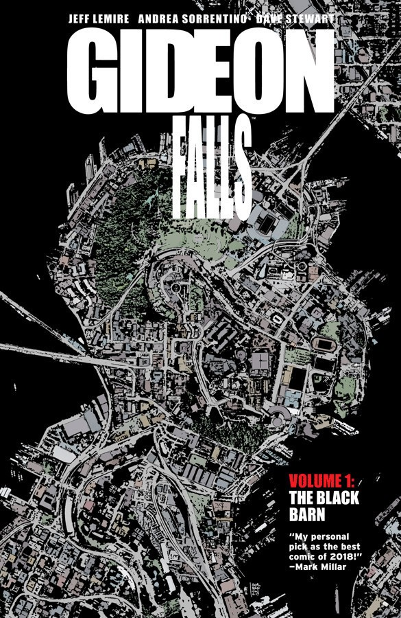 Gideon Falls Vol. 1 Cover Art by Andrea Sorrentino
