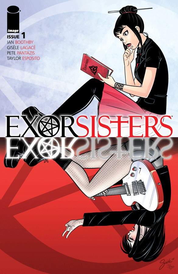 Exorsisters #1 Cover Art