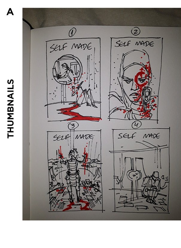 Self/Made #2 Cover Thumbnails