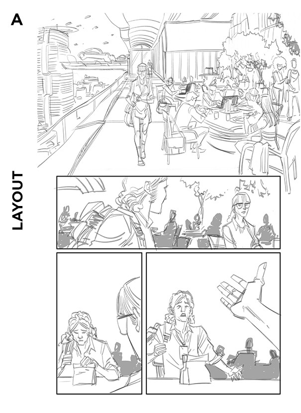 Self/Made #2, Page 13 Layout