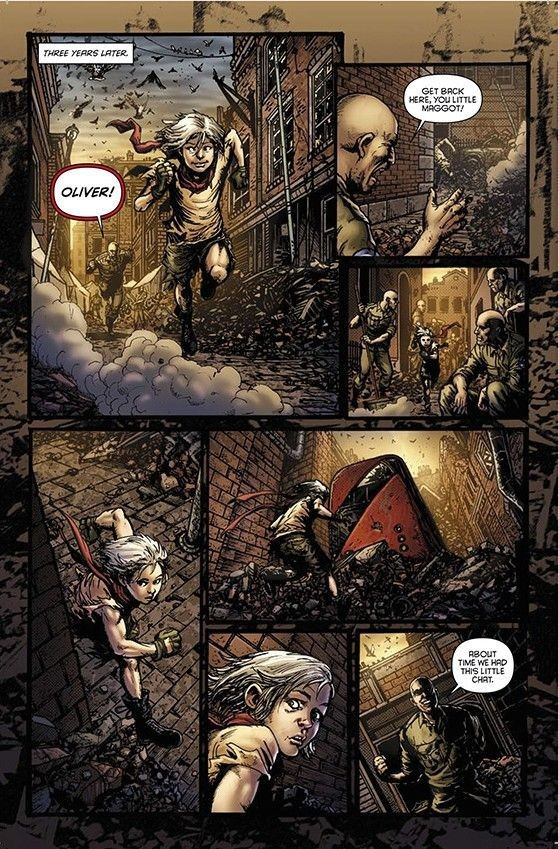 Oliver #1 Preview Page A
