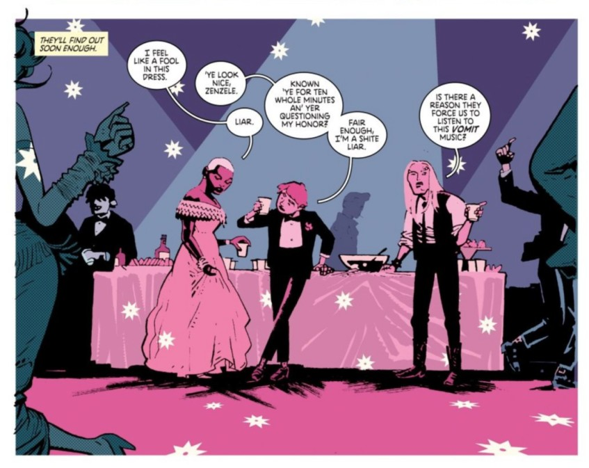Deadly Class Interior Art by Wes Craig