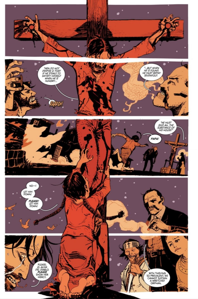 Deadly Class Interior Art by Wes Craig and Lee Loughridge.