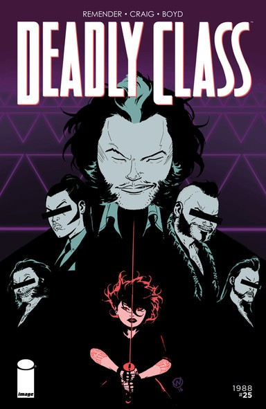 Deadly Class Cover Art by Wes Craig and Jordan Boyd.