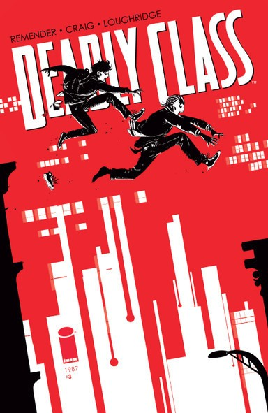 Deadly Class Cover Art by Wes Craig and Jordan Boyd