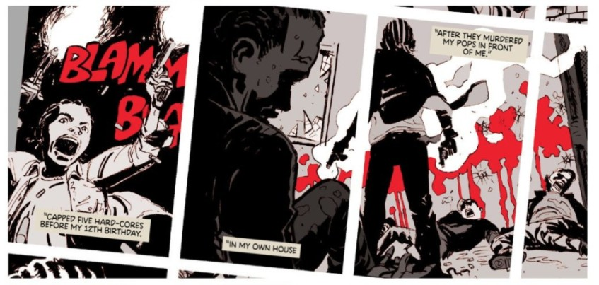 Deadly Class Interior Art by Wes Craig and Lee Loughridge