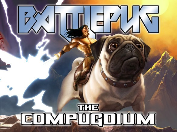Battlepug Compugdium Cover by Mike Norton