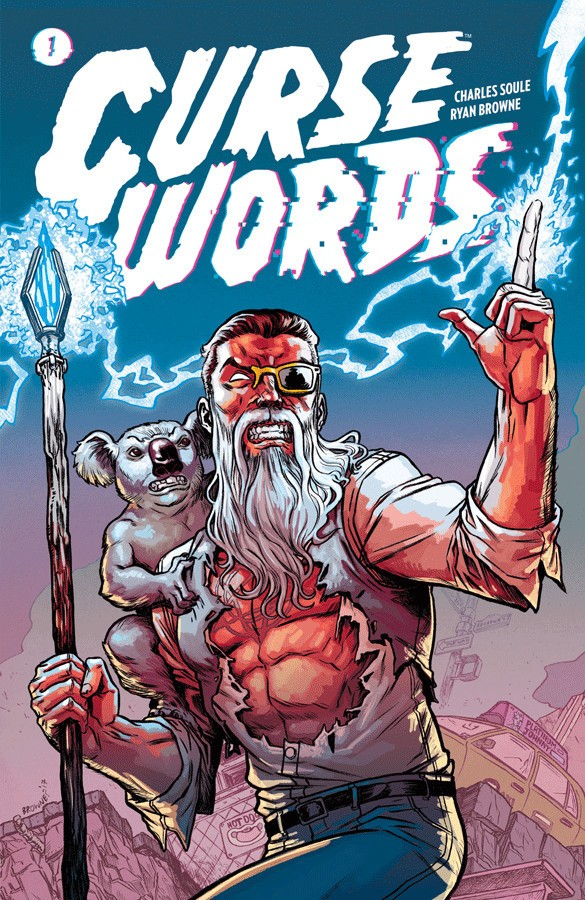 Curse Words Vol. 1 Cover Art by Ryan Browne