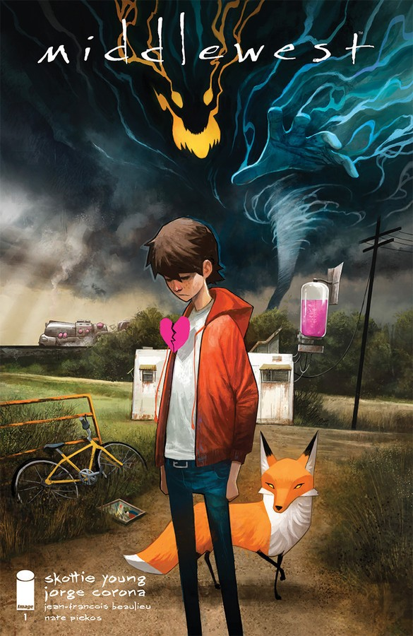 Middlewest #1 Cover Art by Mike Huddleston