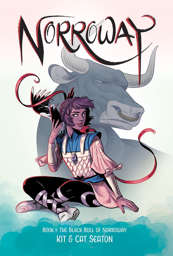 Norroway Cover Art by Kit and Cat Seaton