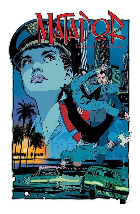 Matador Cover Art by Brian Stelfreeze