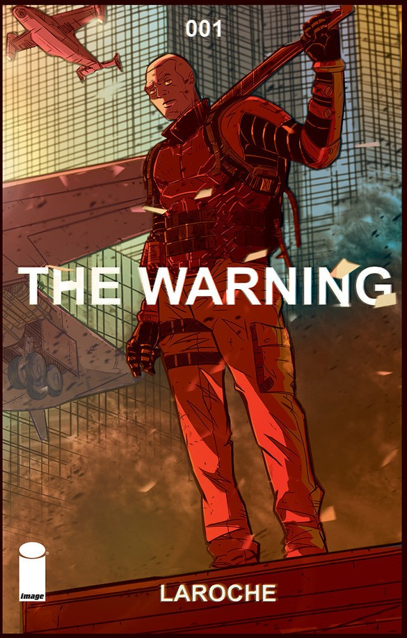 The Warning #1 Cover Art by Edward Laroche
