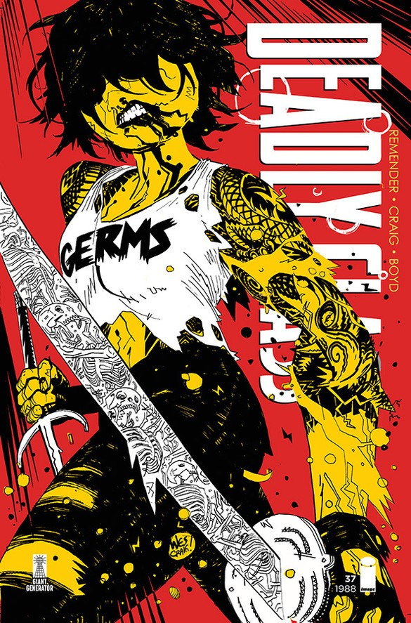 Deadly Class #37 Cover Art by Wes Craig and Jordan Boyd