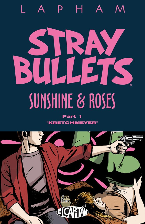 Stray Bullets: Sunshine and Roses Cover Art by David Lapham