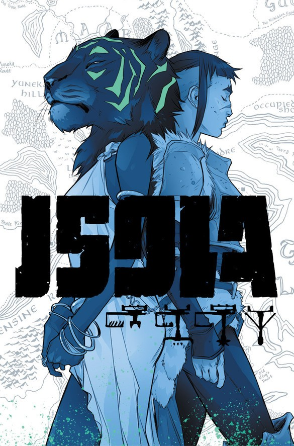 Isola Cover Art by Karl Kerschl