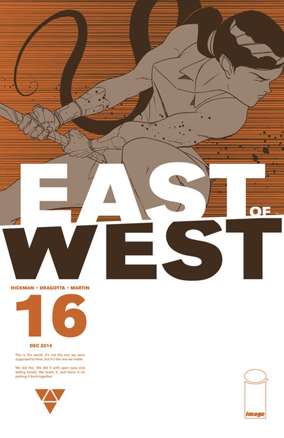 East of West Cover by Nick Dragotta