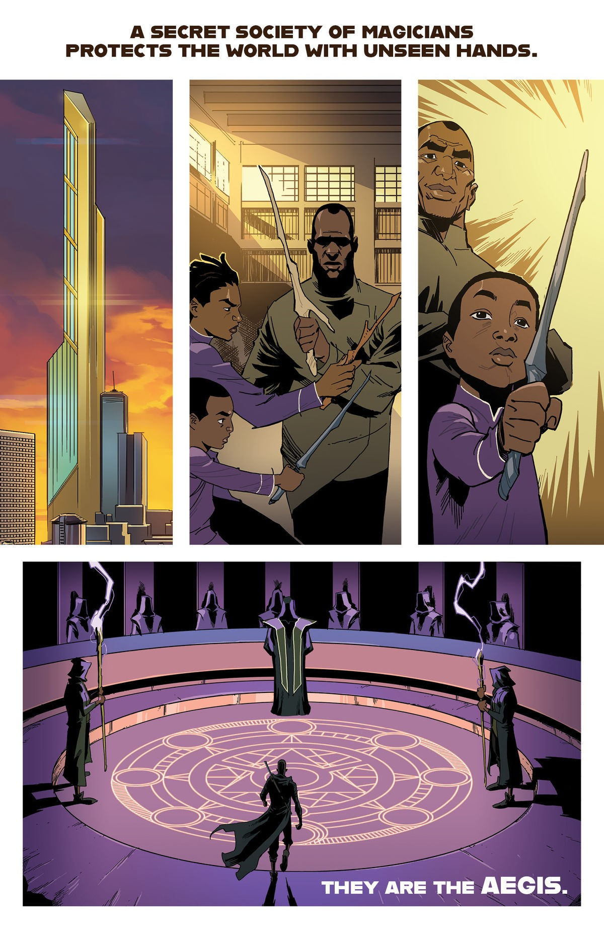 Excellence Preview by Khary Randolph