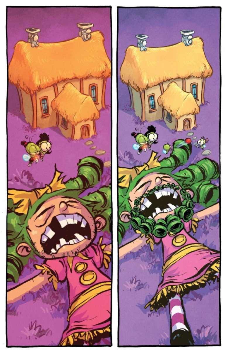 Larry lives a lifetime in hours in Skottie Young's I Hate Fairyland