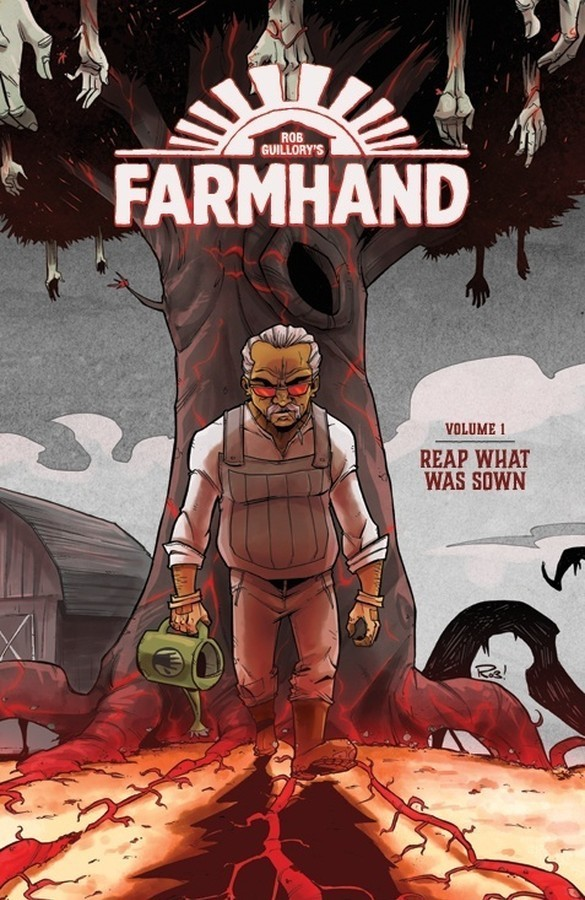 Farmhand Vol. 1 Cover Art by Rob Guillory.
