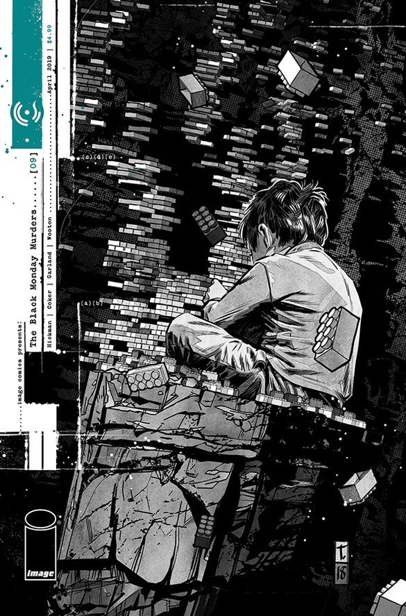 The Black Monday Murders #9 Cover Art by Tomm Coker