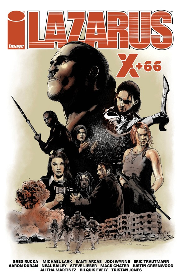 Lazarus: X+66, Cull Cover Art by Michael Lark