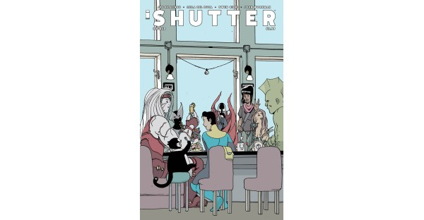 SHUTTER #25 crossover event: special Brandon Graham variant cover revealed