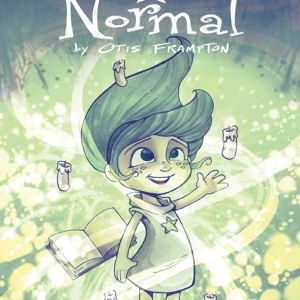 Oddly Normal #3 variant cover by Katie Cook