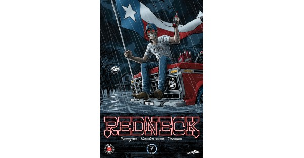 Image/Skybound Entertainment reveals REDNECK variant for Houston charity