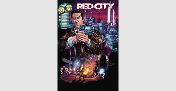 RED CITY #1 is a high stakes crime noir... on planet Mars