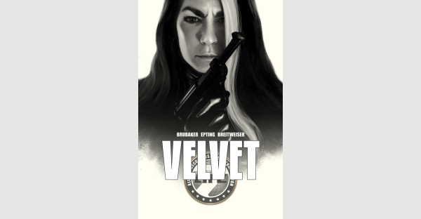 Brubaker & Epting's VELVET collected in hardcover this February