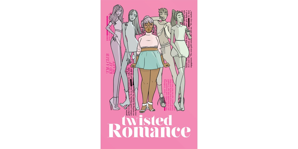 TWISTED ROMANCE trade paperback collection hits stores this