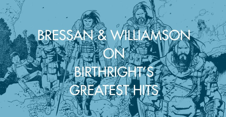 Bressan & Williamson on Birthright's Greatest Hits