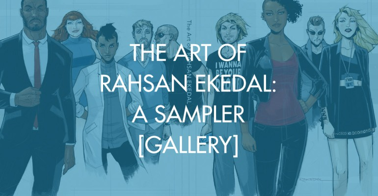 The Art of Rahsan Ekedal: A Sampler [Gallery]