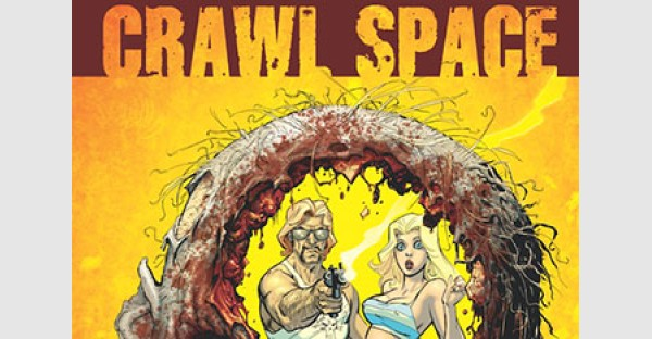 Remender and Dwyer Make Skin Crawl in CRAWL SPACE