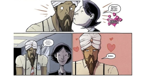 12 Romantic Moments in Image Comics