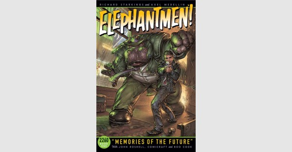 ELEPHANTMEN! An Irresistible Pulp Science-Fiction Noir