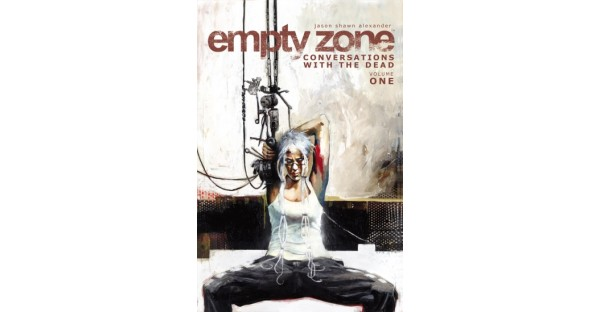 THE EMPTY ZONE, VOL. 1 is a haunting cyberpunk read