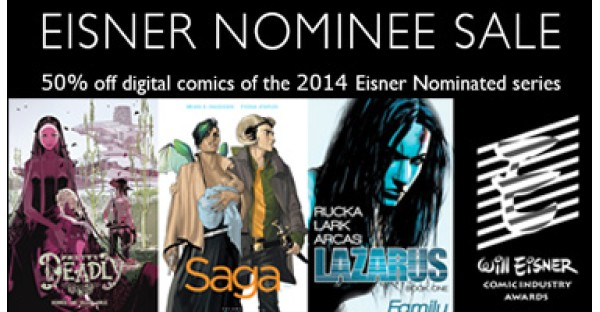 Eisner Nominees Digital Sale