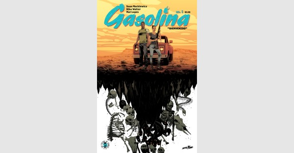 Sneak a peek at Image/Skybound's new series GASOLINA