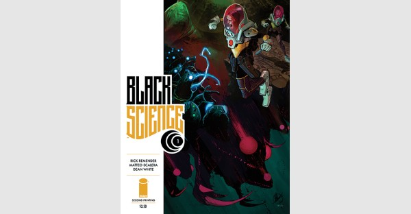 BLACK SCIENCE Takes Readers on A Wild Adventure